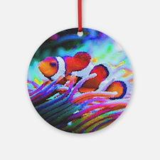 ClownFish20151008 Round Ornament