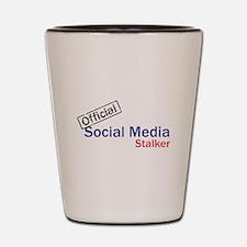 Official Social Media Stalker Shot Glass
