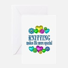 Knitting More Special Greeting Card