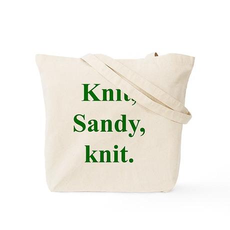 Sandy Knits Tote Bag