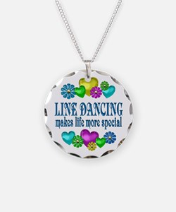Line Dancing More Special Necklace