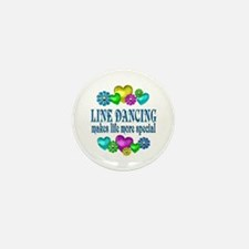 Line Dancing More Special Mini Button (10 pack)