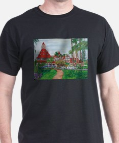 Cute Victorian buildings T-Shirt
