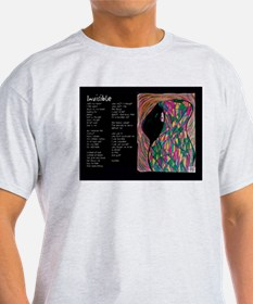 Invisible illustrated poem T-Shirt