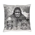 Roger Bob and Patty Everyday Pillow