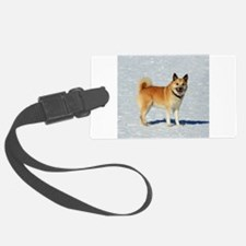 IcelandicSheepdog018 Luggage Tag