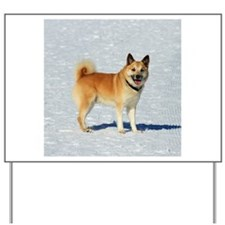 IcelandicSheepdog018 Yard Sign