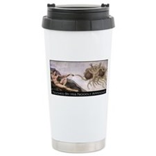 Flying spaghetti monster Travel Mug