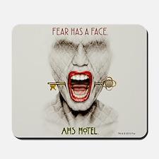 AHS Hotel Fear Has a Face Mousepad