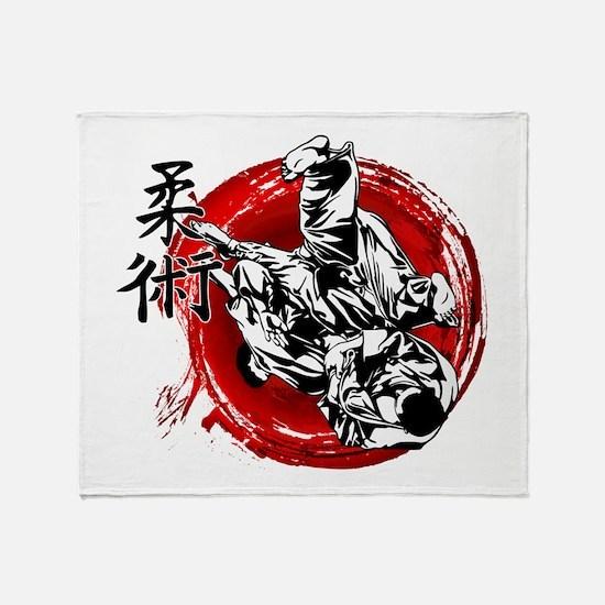 Jujitsu Throw Blanket