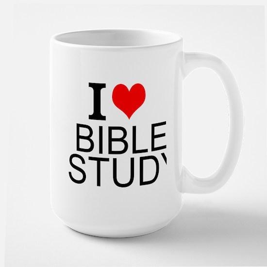 I Love Bible Study Mugs