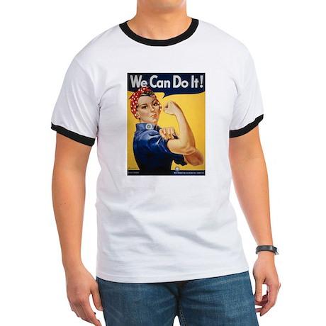 Rosie Riveter We Can Do It Ringer T