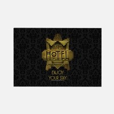 AHS Hotel Enjoy Your Stay Rectangle Magnet