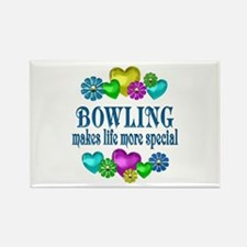 Bowling More Special Rectangle Magnet
