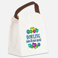Bowling More Special Canvas Lunch Bag