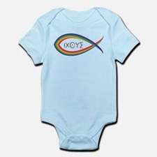 Cute Ichthys Infant Bodysuit