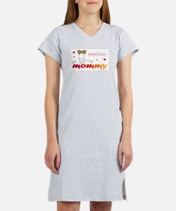 Cute Papillon Women's Nightshirt
