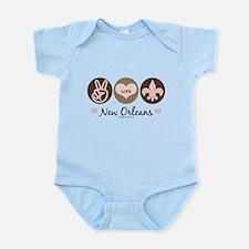 Peace Love New Orleans Infant Bodysuit