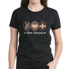 Peace Love New Orleans Tee