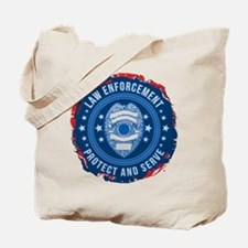Law Enforcement Seal of Safety Tote Bag