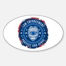 Law Enforcement Seal of Safety Decal