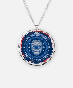 Law Enforcement Seal of Safe Necklace