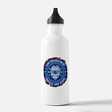 Law Enforcement Seal o Water Bottle