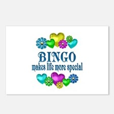 Bingo More Special Postcards (Package of 8)