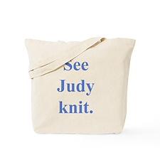 Judy Knits Tote Bag