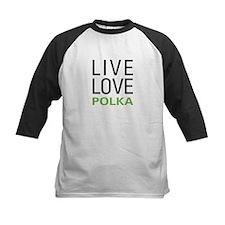 Live Love Polka Tee