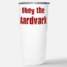 Unique Aardvark Travel Mug
