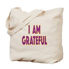 I Am Grateful1 Tote Bag