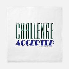 Challenge Accepted Queen Duvet