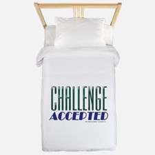 Challenge Accepted Twin Duvet