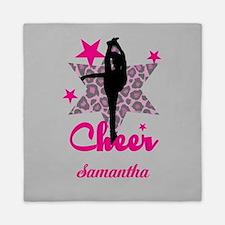Pink Cheerleader Queen Duvet