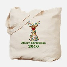 CUSTOM Adorable Reindeer Tote Bag