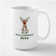 CUSTOM Adorable Reindeer Mugs