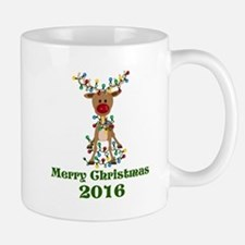 CUSTOM Adorable Reindeer Mugs
