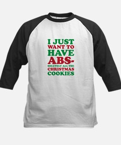 Christmas Cookies Baseball Jersey