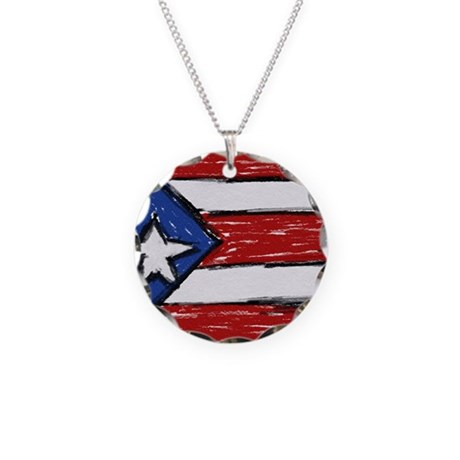 puerto rican flag necklace by admin cp41547602