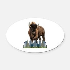 CHARGE Oval Car Magnet