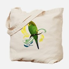 English Budgie Tote Bag