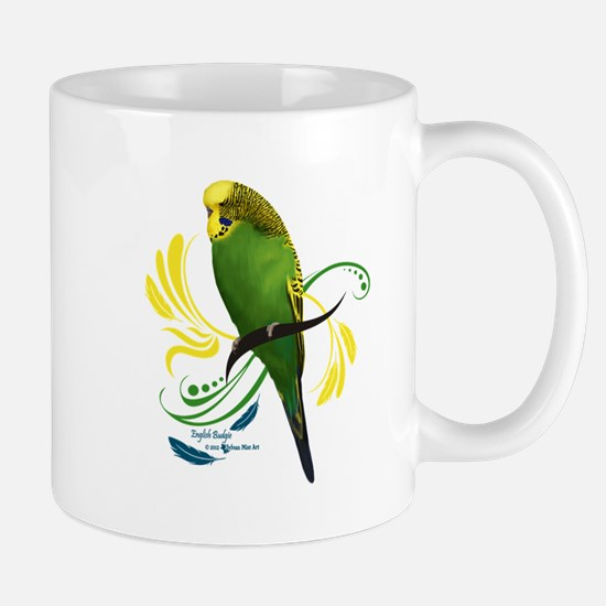 English Budgie Mugs