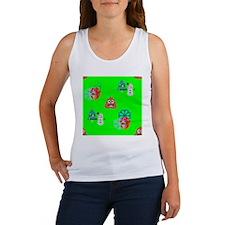 Unique Neon green Women's Tank Top