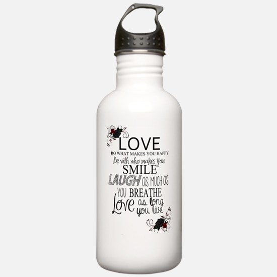 Unique Inspirational quotes Water Bottle