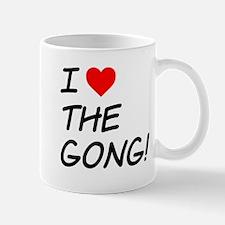 I heart The Gong Mugs