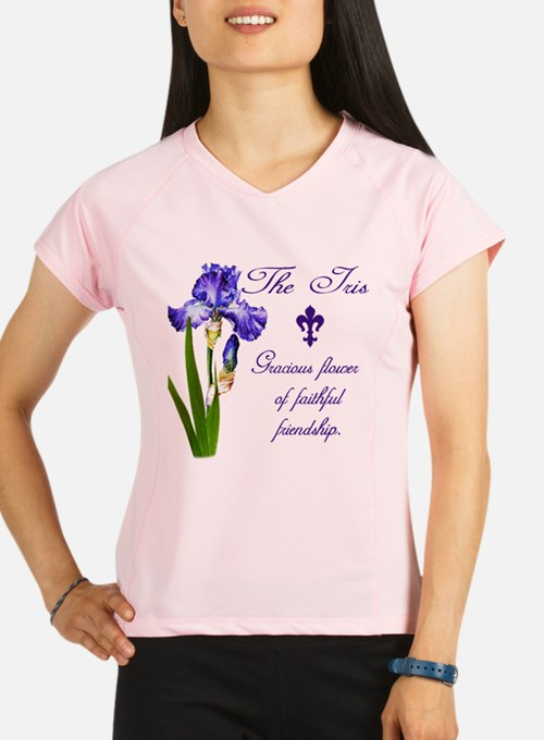Cute Calligraphy Performance Dry T-Shirt