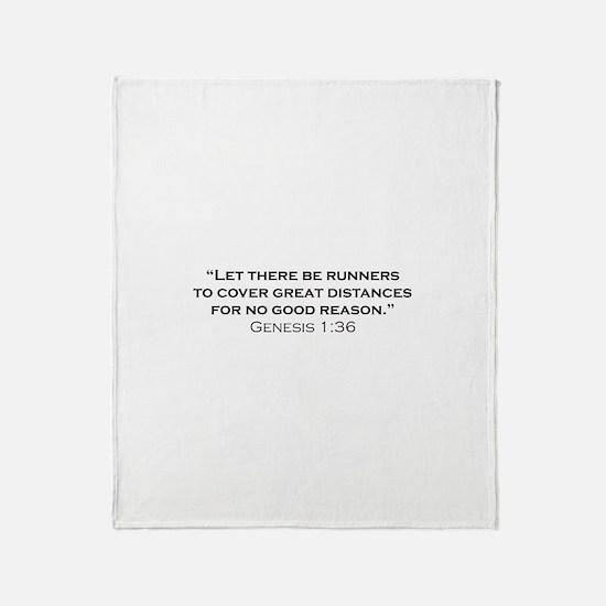 Runner / Genesis Throw Blanket