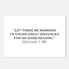 Runner / Genesis Postcards (Package of 8)