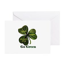 Go Green Greeting Cards (Pk of 10)